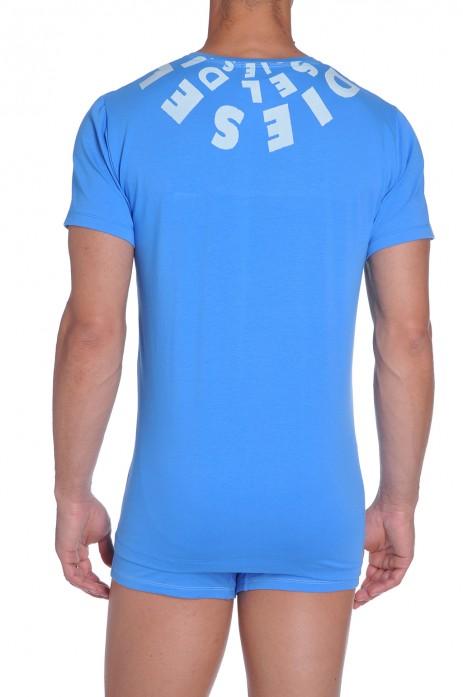 Diesel Jesse T-Shirt Royalblauw
