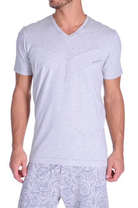 Diesel V-Shirt Jake Grijs