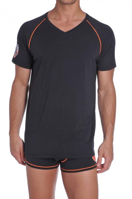 Diesel Joe T-shirt Zwart