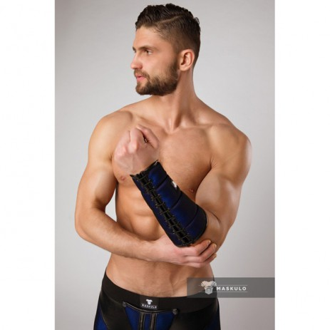 Maskulo Armored Color-Under Forearm Wallet - Blue