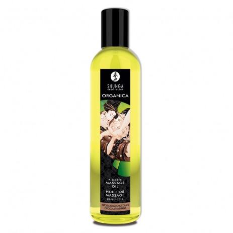 Organica Erotische Massage Olie - Intoxicating Chocolate van Shunga