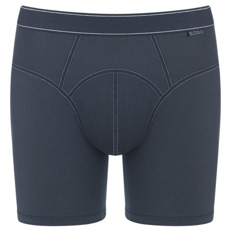 Sloggi Men Active Silver Plus Short Zwart