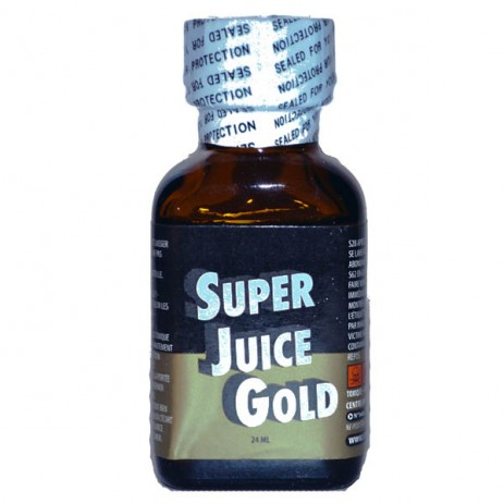 Super Juice Poppers Gold 24ml