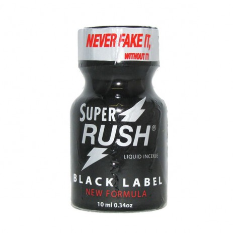 Super Rush Black Label Poppers 10ml
