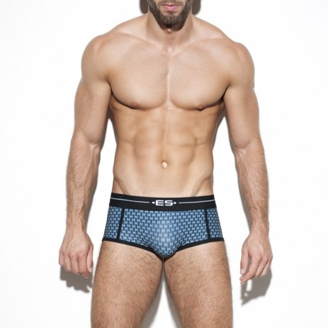 ES Collection Diamond Boxer - Cobalt