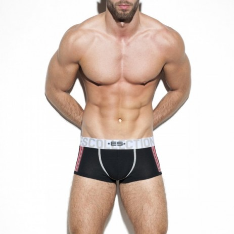 ES Collection Basic Stripes Boxer - Zwart