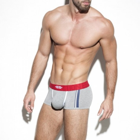 ES Collection Basic Stripes Boxer - Grijs