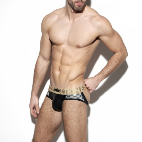 ES Collection Squares Gold Jock