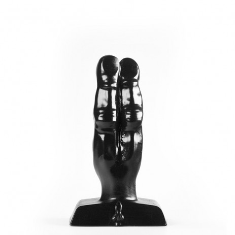 Zizi - Two Finger Buttplug Zwart