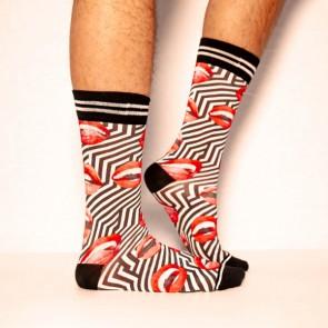 Sock My Hot Lips - Heren Sokken