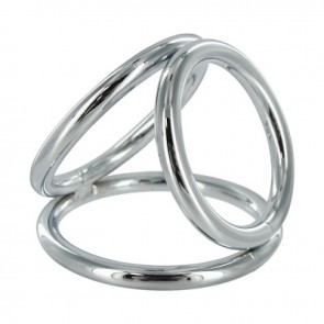 RVS Cock en Ball Ring Triad