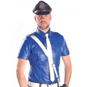 Mister B Politieshirt Blauw