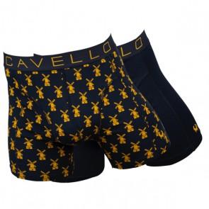 Cavello Molentjes 2 Pack Boxershorts - Print / Geel