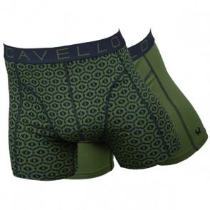 Cavello Groen 2 Pack Boxershorts - Print / Groen