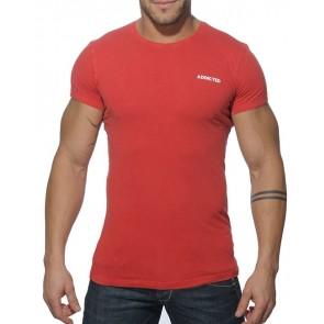 Addicted AD215 Vintage T-Shirt Rood OP=OP!