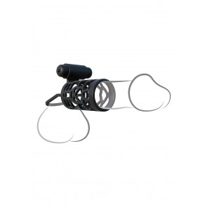 Thick Dick Silicone Vibrating Cage