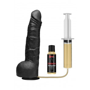 Kink Silicone Squirting Cock Black