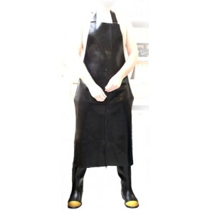 Mister B Rubber Butchers Apron Three Way Zip