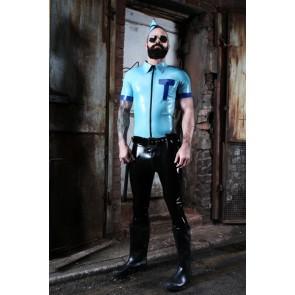 Mister B Rubber Police Shirt