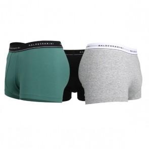 Baldessarini Hipster 3 Stuks - Zwart Groen grijs