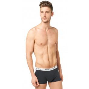 Tom Tailor Boxershort 3 pack Antra-Melan-Black