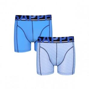 Sapph 2-Pack Boxershorts Microvezel - Blue / Blue Melange