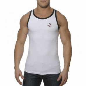 Addicted AD176 Boxing Sport Tank Top Wit OP=OP!