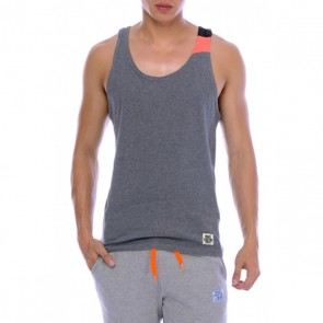 Private Structure Racer Back Singlet Melange