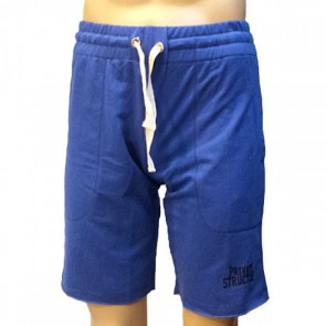 Private Structure Casual Shorts Blue