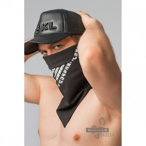 Maskulo Skulla Men's Fetish Bandana