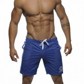 Addicted Air-Mesh Knee Length Short - Royal Blue