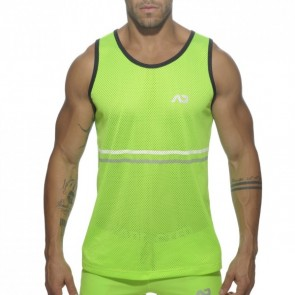 Addicted Platinum Detail Tank Top Lime