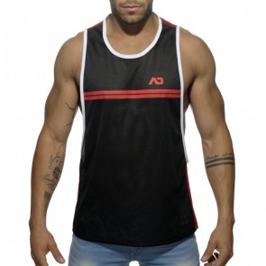 Addicted AD555 Sporty Tank Top Red