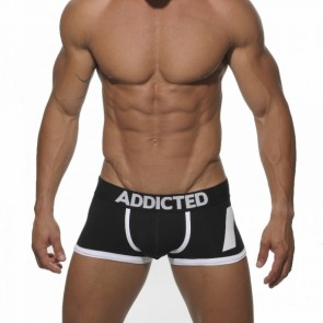 Addicted AD156 Push Up Boxer Zwart Voorkant
