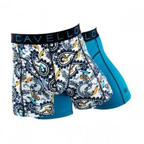 Cavello Paisley Boxershort Set - Petrol