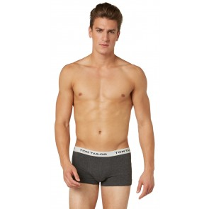 Tom Tailor Boxershort 3 Pack Melange-Grey-Green