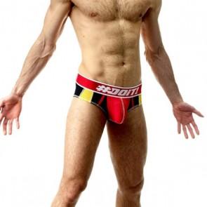 DOiT Brief Flag Hippster Rood / Zwart / Wit
