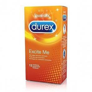 Durex Excite Me Condooms 12 st.