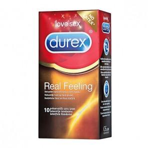 Durex Real Feeling Latexvrije Condooms 10 st.