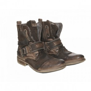 ES Leather Boots Bruin