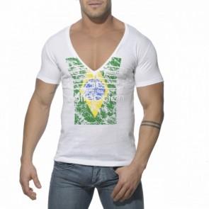 ES Brazilië T-Shirt Wit