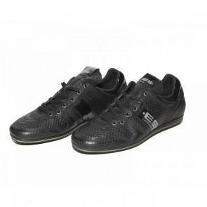 ES Leather Sneakers Zwart