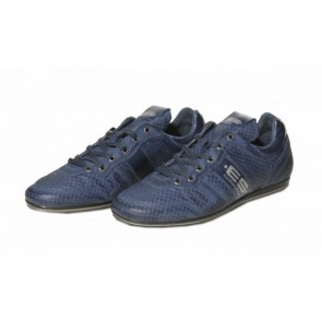 ES Leather Sneakers Navy