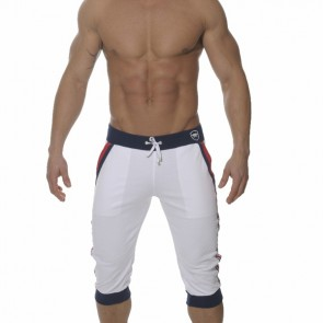 ES Sporty Driekwart Sportbroek Wit