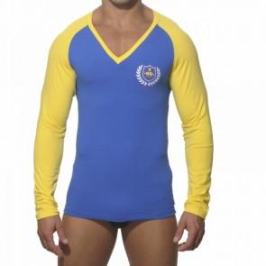 ES Longsleeve Shirt Combined Blauw