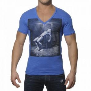 ES T-Shirt Zwart Wit Print