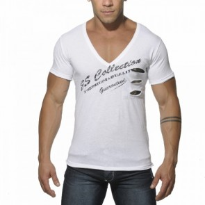ES Pocket Camouflage T-Shirt Wit