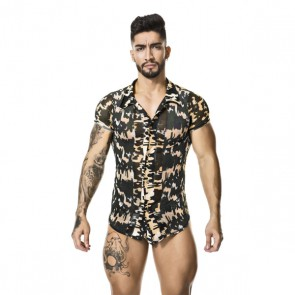 GIGO - Tropic Shirt met knopen ModelF