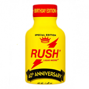 Rush Anniversary Poppers - 40ml