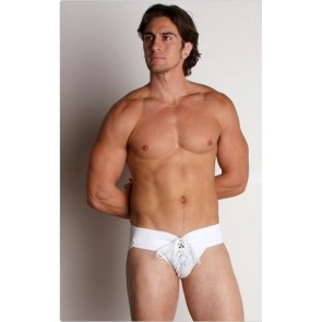 Activeman Lace Up Jockstrap Wit